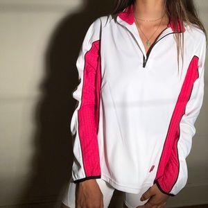 Prince Quarterzip Athletic Tennis Jacket